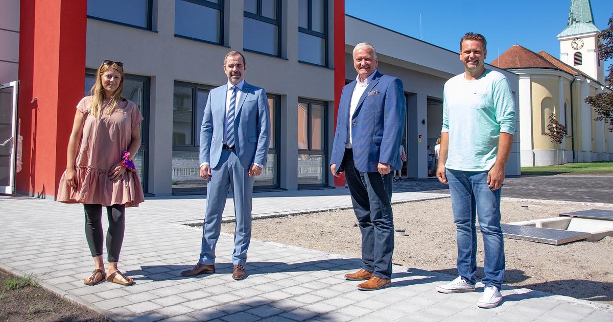 LHStv. Franz Schnabl besucht die Gemeinden Berg, Hundsheim und Bad Deutsch-Altenburg